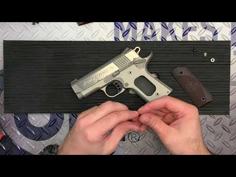 How To Change Grips On Your 1911