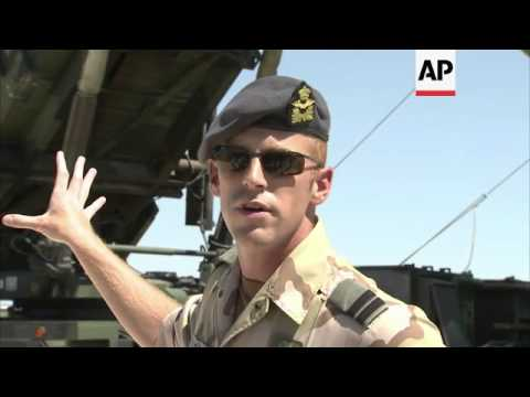 Interview With Dutch Commander At US Military Airbase In Turkey