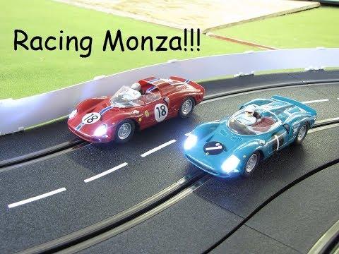 1965 Classic Car Digital Slot Car League Race 2   Monza Italy 2018