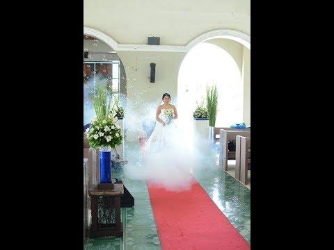 Bohol Wedding Full Processional Entourage