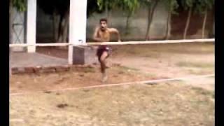 Stunt in Nawan pind