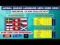 Jadwal Siaran Langsung Euro 2021 Malam ini: LIVE RCTI dan MNCTV | 18 Juni 2021
