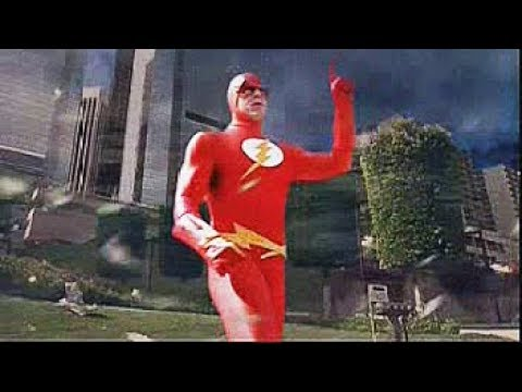 Flash stops the tornado  Justice League Of America