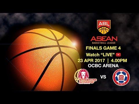 Singapore Slingers vs Hong Kong Eastern Long Lions | ASEAN Basketball League 2016-2017 final Game 4