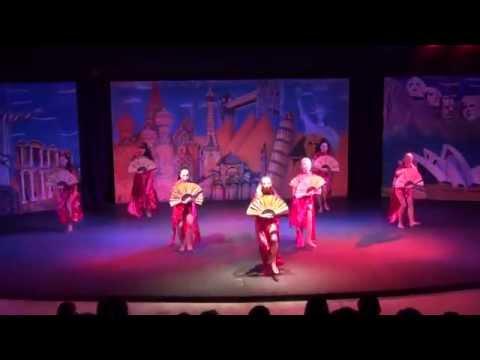 """Dance show """"Voyage"""" .Hotel Club Zigana, Turkey, 2012"""