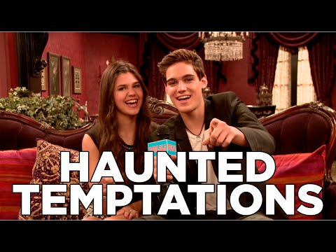 Behind The  Scenes With The Haunted Hathaways Cast