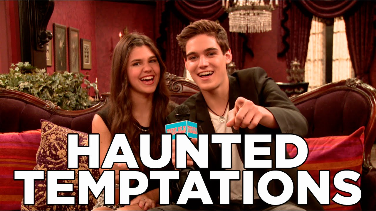 Behind The Scen... The Haunted Hathaways Cast Names