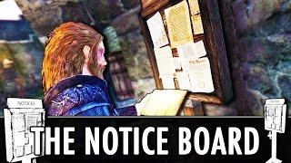 Skyrim Mod: The Notice Board