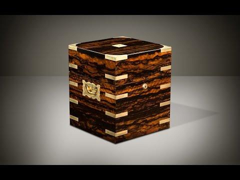 Daniellucian.com - Antique Jewellery Box in Coromandel