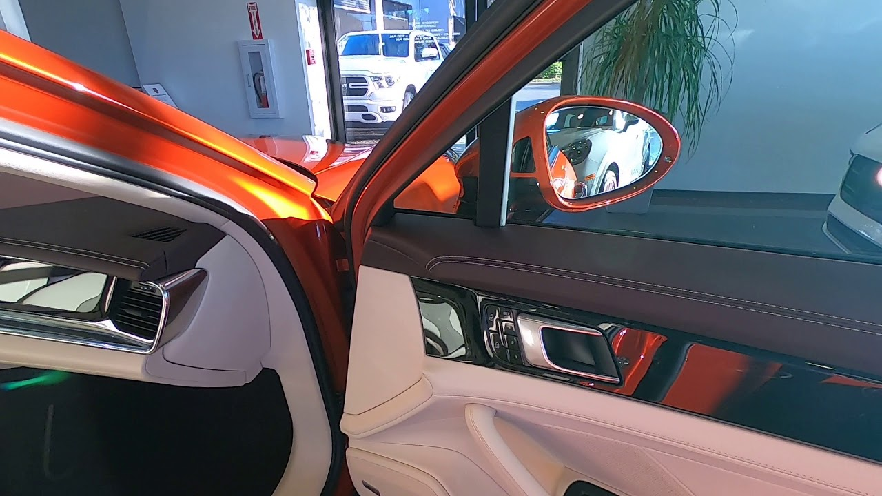 2020 Porsche Panamera in Papaya Metallic