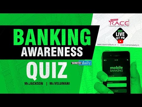 BANKING AWARENESS QUIZ for SYNDICATE BANK PO | Mr. Jackson &