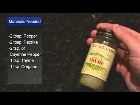 Blackened Seasoning Recipe