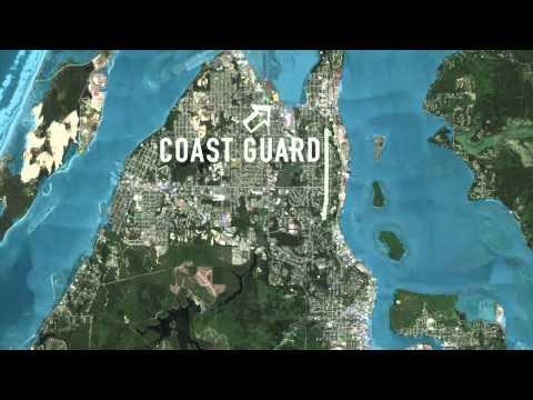 Animation of mega tsunami hitting Coos Bay and North Bend.mp
