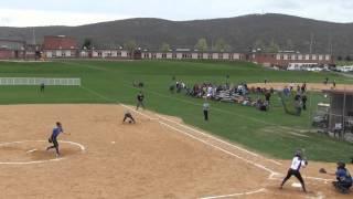 Monroe Woodbury High School Varsity Softball vs Middletown 4 23 2016
