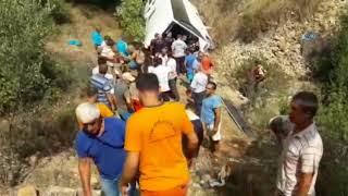 Video Antalya'da tur otobüsü şarampole yuvarlandı: 2 ölü download MP3, 3GP, MP4, WEBM, AVI, FLV Desember 2017