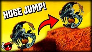 How HIGH Can A Droideka JUMP? - Star Wars Battlefront 2
