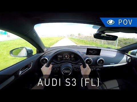 Audi S3 Sportback (8V FL) 310 KM (2017) - POV Drive | Project Automotive