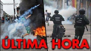 NOTICIA de ÚLTIMA HORA CRISIS en VENEZUELA CIERRAN FRONTERA con COLOMBIA y HAY ENFRENTAMlENT0S