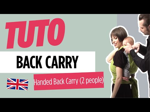 Baby Wearing - Handed back carry - JPMBB