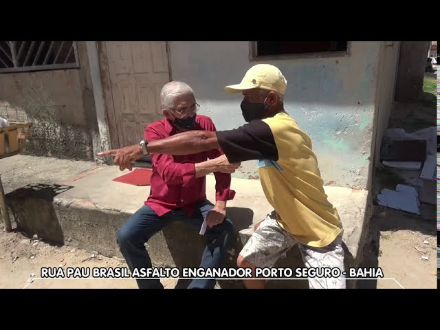Asfalto enganador - Porto Seguro-Bahia