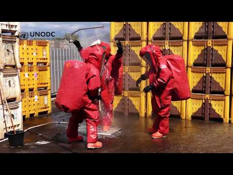 UNODC Laboratory: Full Chemical Resistant Personal Protective Equipment (PPE) Ensemble
