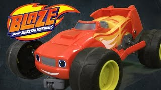 Blaze and the Monster Machines Transforming R/C Blaze from Mattel