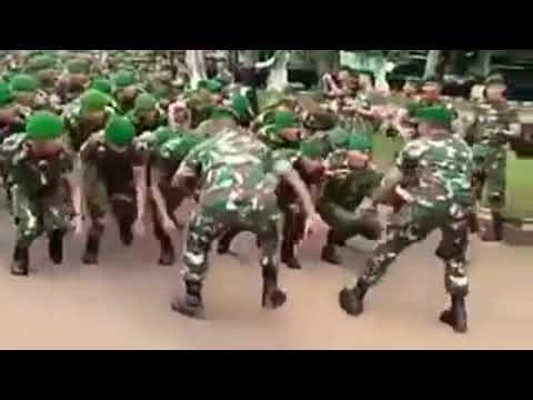 YEL YEL YANG SELALU  MEMBUAT SEMANGAT TNI SEMANGAT DALAM BERTUGAS