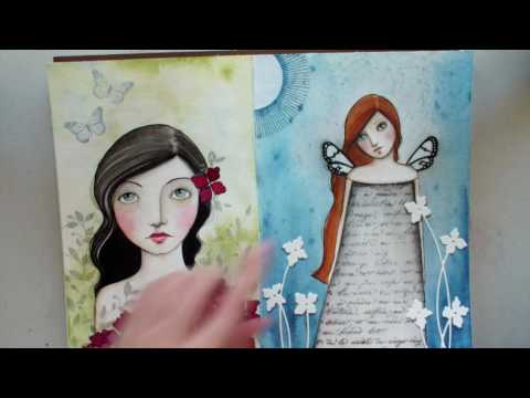 PB art journaling tips
