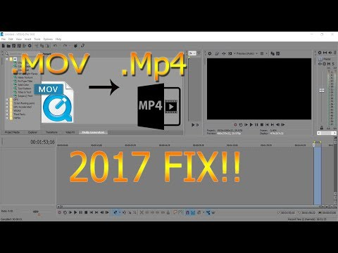 HOW TO PUT IPHONE VIDEOS INTO SONY VEGAS l 2018 l .MOV to .MP4!!