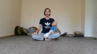 Йога для мам с малышами. Алена Евсюкова. Видео-урок 5. Восстановление репродуктивной системы.(yogarmoniya.com., 2016-10-07T14:18:10.000Z)