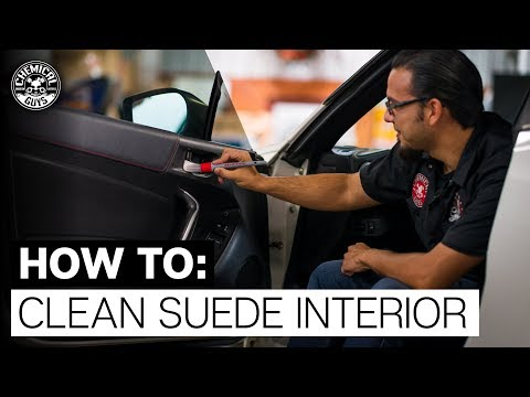 Interior Cleaning Tools For All Surfaces, Even Suede! - Chemical Guys