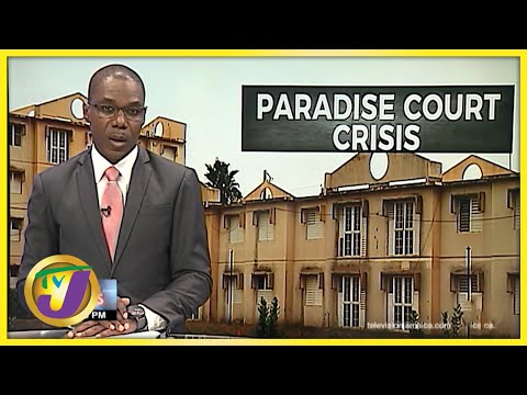 Paradise Court Crisis - Trench Town Jamaica | TVJ News - August 27 2021
