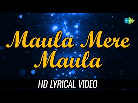 Maula Mere Maula | Lyrical | Anwar | Roop Kumar Rathod | Mithoon