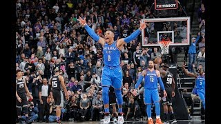Russell Westbrook, Stephen Curry, and the Best Plays From Thursday Night | February 22, 2018