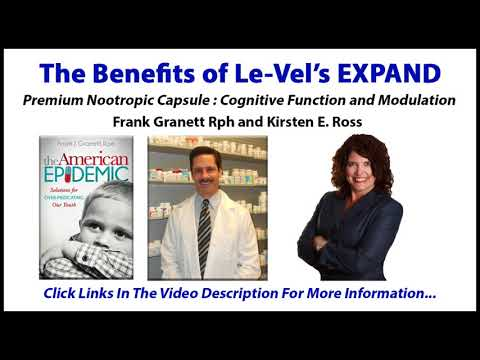 The Benefits of Le-Vel's Expand Product - Frank Granett Kirsten Vogel