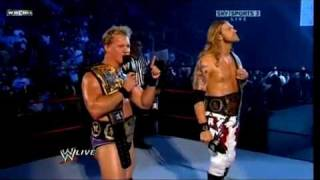 Edge and Chris Jericho entrance