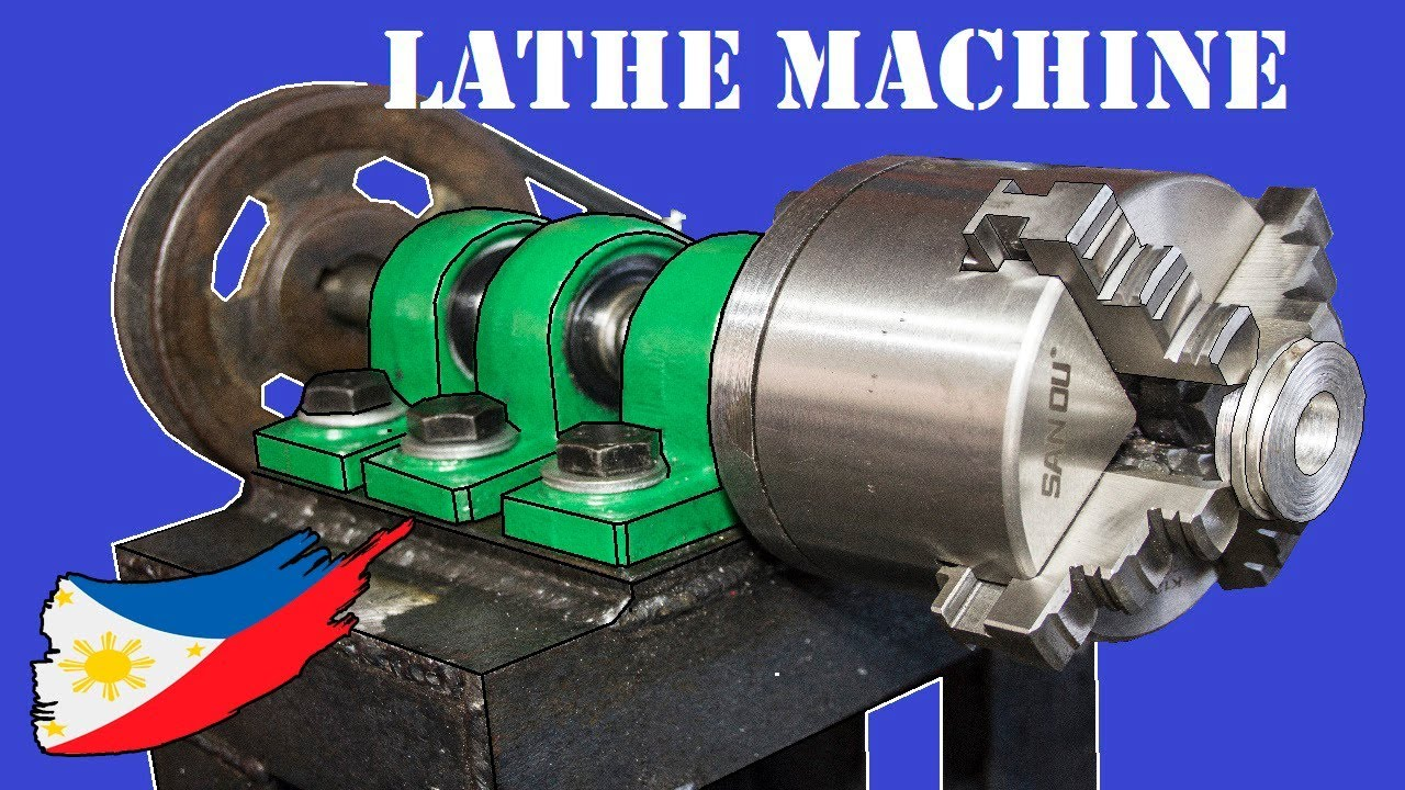 Diy Metal Lathe Machine Without Using A