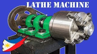 Cover images DIY Metal Lathe Machine Without Using a Lathe Machine