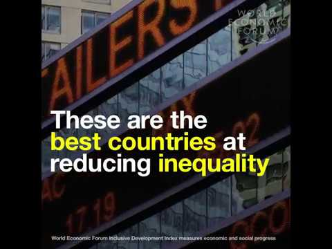 These are the best countries at reducing inequality