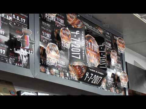 Huge Strange Music Display At Independent Records In Colorado Springs
