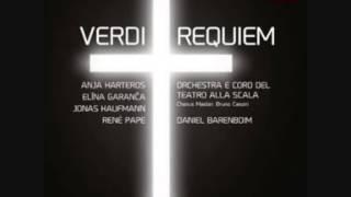 Daniel Barenboim - Verdi - Messa da Requiem  VII.  Libera Me  - II.  Dies Irae