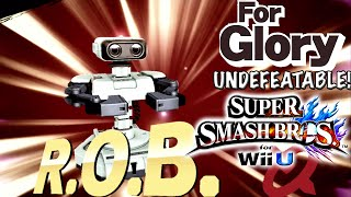 Incredible Pit | Undefeatable! - R.O.B. ~ Ep. 4 - Super Smash Bros for Wii U (For Glory) 60 FPS HD