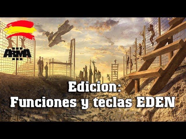 Arma 3 | Edicion: funciones y teclas EDEN editor |11thMEU