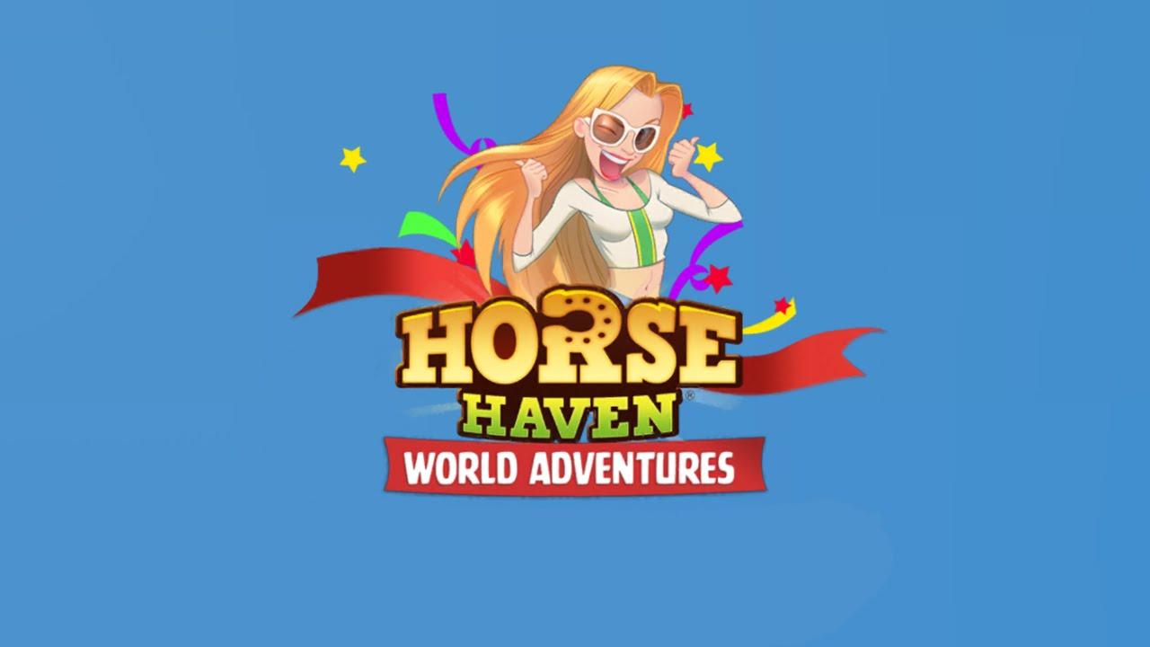 Horse Haven World Adventures - iOS / Android - HD (Sneak Peek) Gameplay Trailer