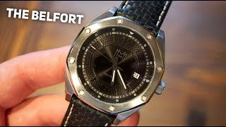 Modern Made Man Belfort Automatic Watch Review - Hand Assembled in the USA!