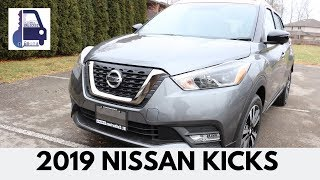 2019 Nissan Kicks Sr In Depth Walk Around And Review