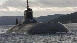 Submarine TK 208 Dmitry Donskoy - coast of Sweden