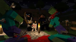 Minecraft: Hunger Games - Ep 4 Fire aspect loss
