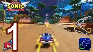 Team Sonic Racing Switch Walkthrough - Gameplay Part 1 - Chapter 1: The Mysterious Invite