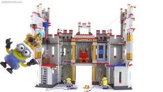 Mega Bloks Minions Castle Adventures playset review!